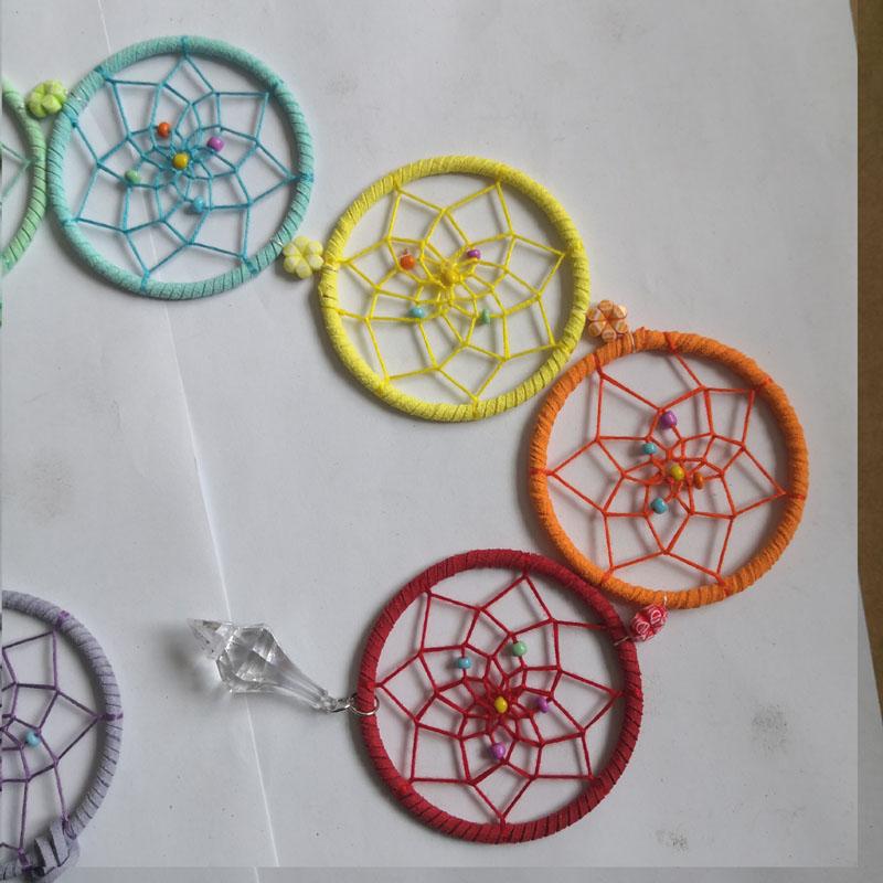 hand made crafts and gift indiana folk art chakra healing symbols style dream catcher