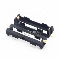 high quality One Section 18650 SMT SMD Plastic Gilding Battery Box Holder Case