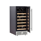 Wine 31-boteles Compressor Wine Chiller Fridge 85 Liters Hot Selling Thermoelectric Refrigerator For Hotel With Appr