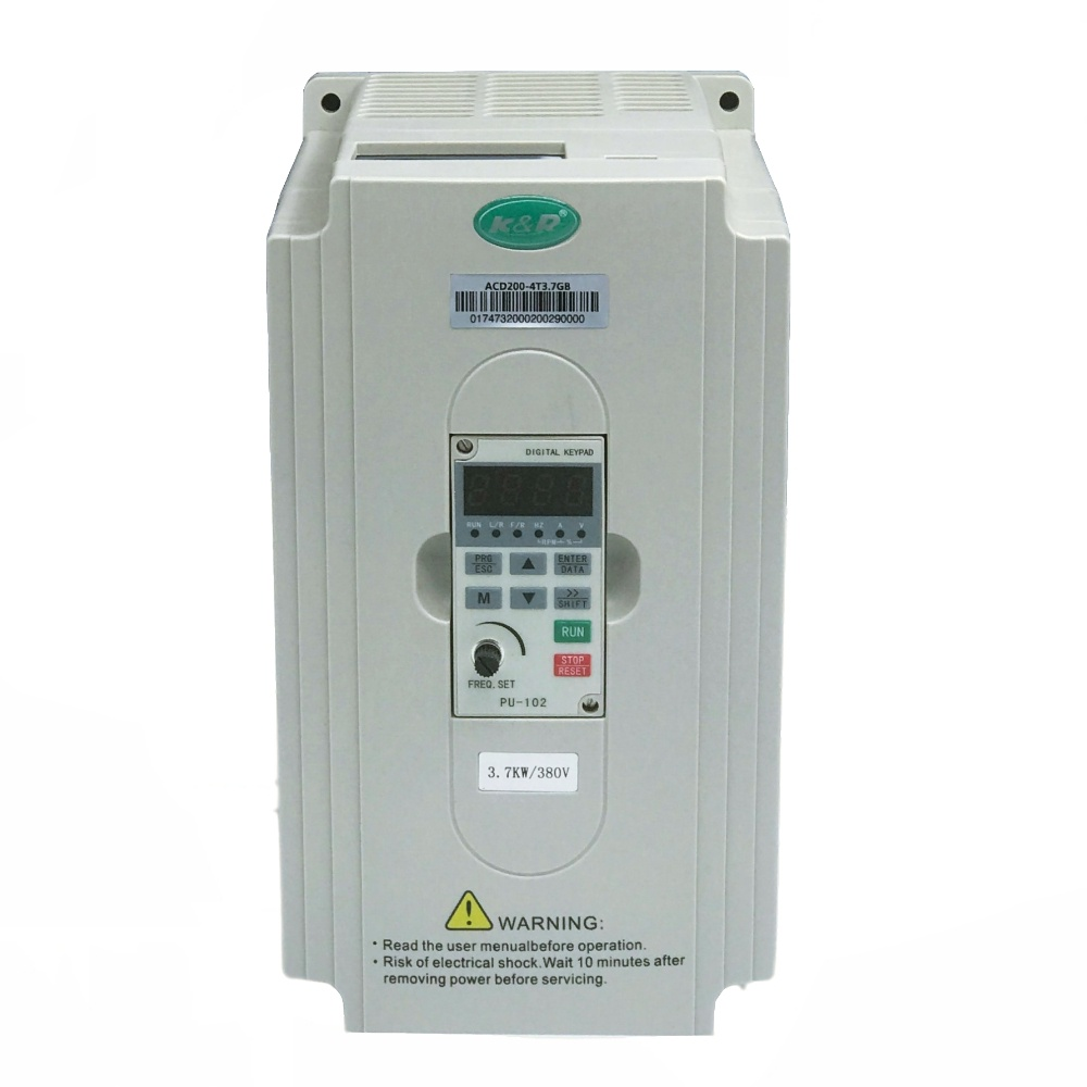 ACD260 Series 3.7 KW 3 Phase VVVF Drive AC Drive VFD AC Motor