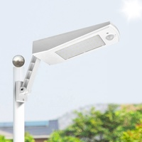 48 LED 900LM Wireless Waterproof Auto Motion Sensor Outdoor Solar Powered Adjustable Pole Wall Light