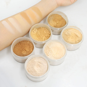 Private Label Your Own Brand Cosmetics Face Makeup Setting Translucent Loose Powder