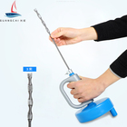 Kitchen Toilet Sewer Blockage Dredge tool drain clog remove Pipe Dredger 5 meters Hand type pipe cleaner