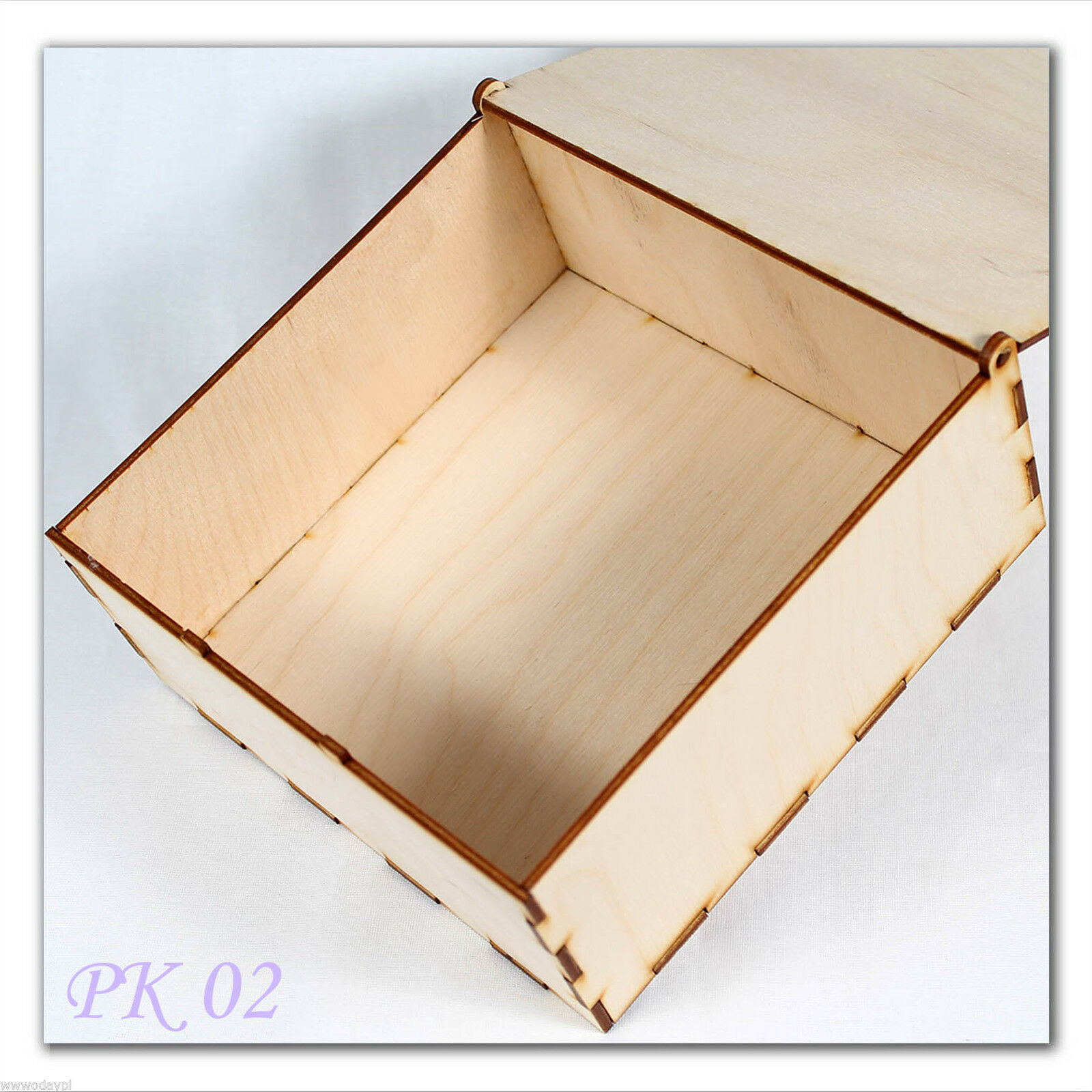 plywood wooden Engraved Top Box  for wedding cards