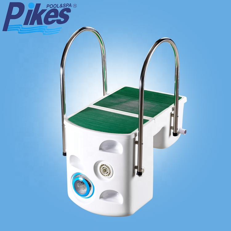 China Factory Wall Hung Water Filtration Integrated System Swimming Pool Cleaning Equipment