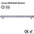 LED linear wall washer Small power light 36W RGBW led linear bar using in outdoor bridge lighting