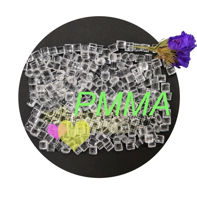Discount!!! Pmma good optical pellets particle granule resin for bathtub