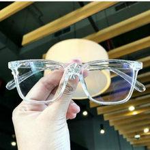 2018 модные женские очки оправа мужские черные очки оправа винтажные Квадратные прозрачные линзы очки Оптическая оправа для очков(Китай)