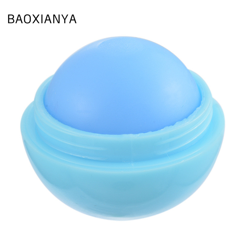 Hot sale good quality private label egg shaped lip balm container customized lip balm labels