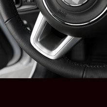 Lsrtw2017 Abs Автомобильный руль Кнопка рамка планки для Jeep Renegade компас 2016 2017 2018 2019 аксессуары комплект Авто(Китай)