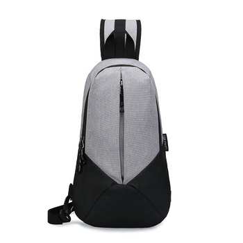 Reflective Anti theft Cross body Messenger Bags Waterproof Nylon Fashion Men Shoulder Sling Bag Chest