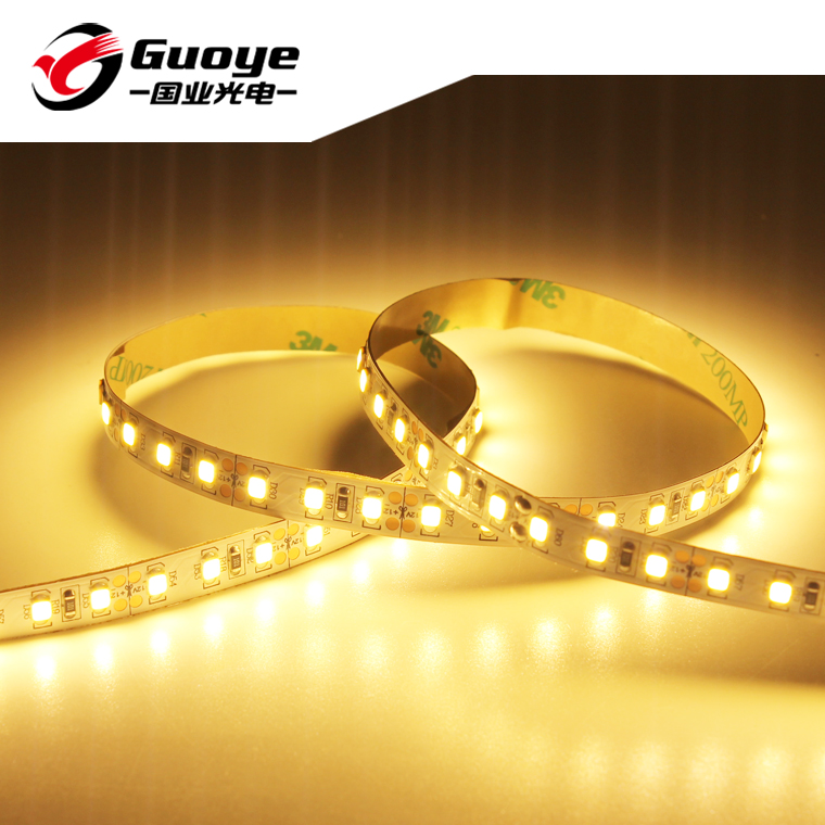 Manufacture SMD 2835 led strip with 12v 24v 120leds/m 5 meter roll cri 80 90 hot sales warm white led strip light offer