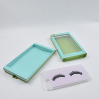 Cell phone case retail plastic paper package box with hang hole
