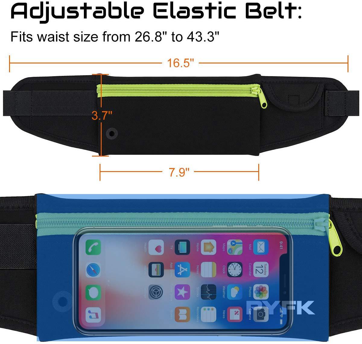 running belt Manufacturer offer best running waist pack Sports Custom Waterproof Pouch Running Belt