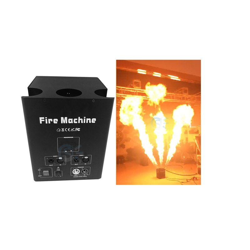 Factory Outlet Stage Effect 180w Triple Fire Jet Machine