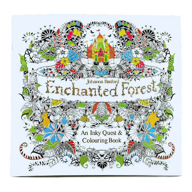 ProCircle lifestyle Custom printing cheap adult colouring books