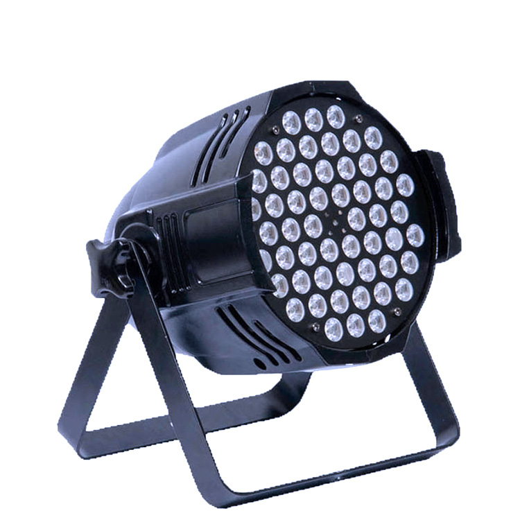 Hight quality china 54*3w DMX RGBW full color  led par stage  light price for dj lighting