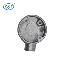 Malleable GI fittings circular junction box