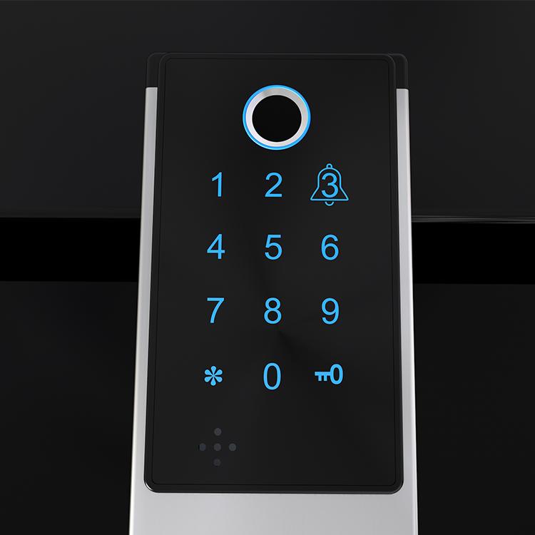 Chinese high quality finger print security door lock intelligent door lock