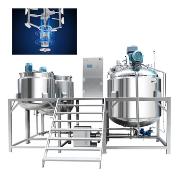 Sanitary silverson high shear mixer for Pharmaceutical or cosmetic applications