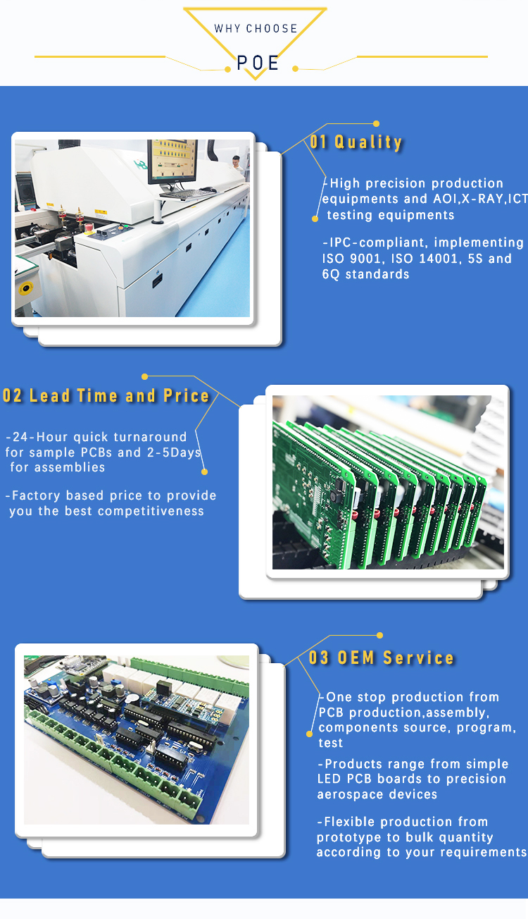 custom oem fr4 kb multilayer printed circuit board ru rohs other 94v0 prototype production pcb
