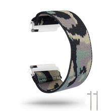 18 мм, 20 мм, 22 мм, спортивный ремешок для Samsung Galaxy Watch, 46 мм, эластичная нейлоновая лента для активного отдыха, 2, 40, 44 мм, ремешок для женщин, брасл...(Китай)