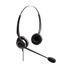 Besten call center headset mit flexible MIC und ultra noise cancelling mikrofon
