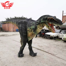 Adulto Lifelike Andando Dinosaur Costume Fornecedor para Juarsssic <span class=keywords><strong>Parque</strong></span>