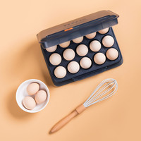 Kitchen Essential Quail Eggs Box Storage Tray Plastic Folding Egg Packing Boxes