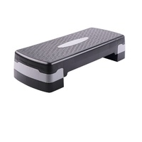 Adjustable exercise equipment aerobic step platform for sports