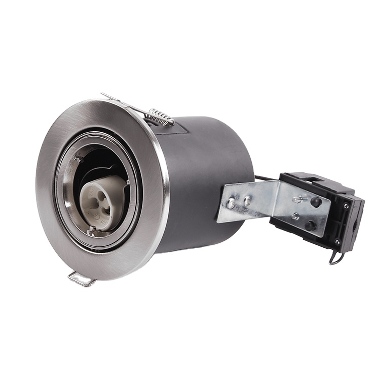 GU10 MR16 fire rated recessed downlight lamp ip65 fire proof cob down light