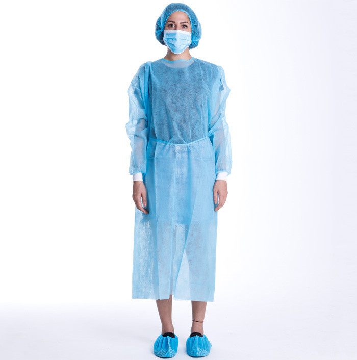 Disposable operating clothes isolation clothes thickened <strong>protective</strong> clothing visit dust jacket