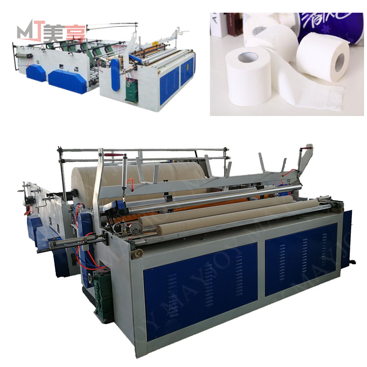 Factory Direct Sale Low Price Toilet Paper Making Plant,Small Scale Toilet Paper Making Machine