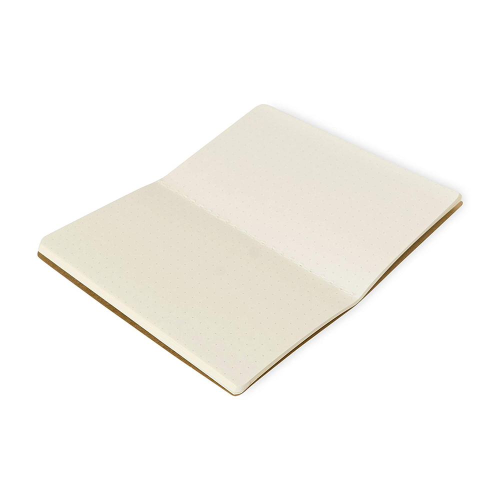 High Quality Practical Portable Bespoke A6 A5 A3 Hardcover Kraft Notebook