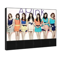 55 Inch Indoor 4K full color HD 0.88mm 1.7mm 3.5mm Slim ultra Narrow Bezel LG Screen monitors 3x3 LCD TV Video display Wall