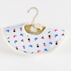 New ins cotton 360 degree round multifunction baby waterproof saliva towel baby bib