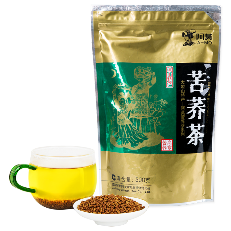 Factory outlet buckwheat green tea with 500g box packaging - 4uTea   4uTea.com