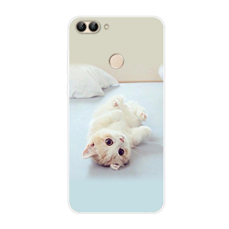 Чехол для Huawei P Smart 2018 Мягкий силиконовый чехол из ТПУ чехол для телефона с рисунком для Huawei P Smart Plus Funda PSmart Plus INE-LX1(Китай)