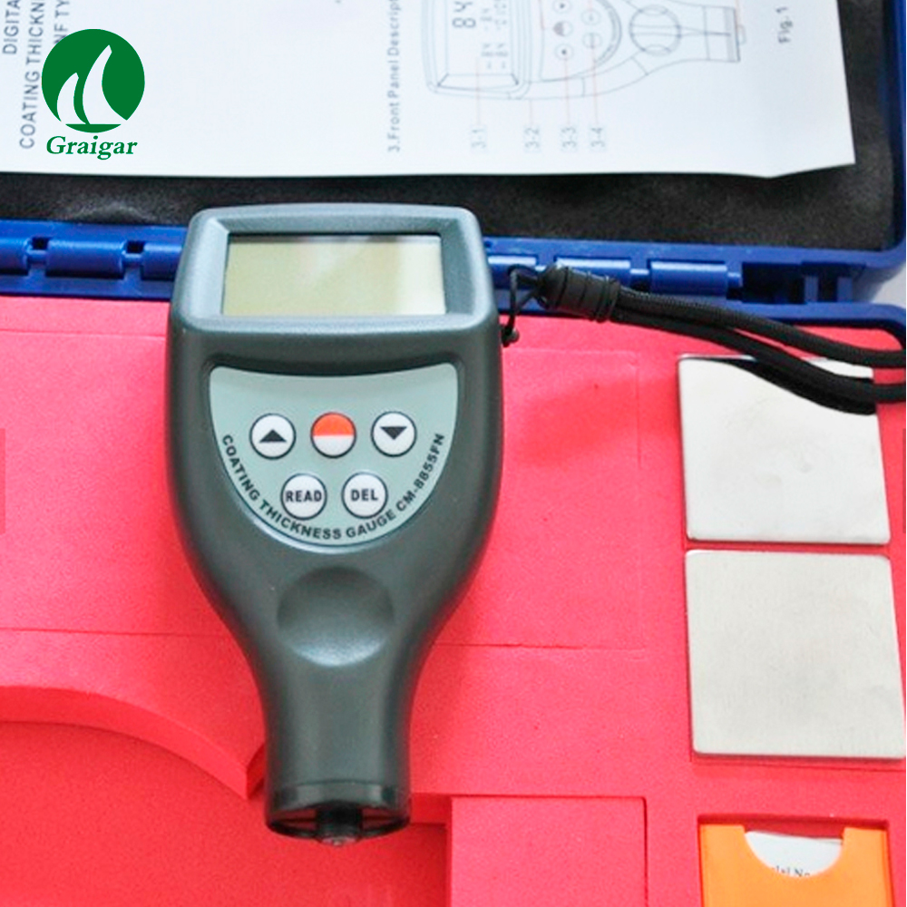 CM-8856 Coating Thickness Gauge Automatic memory of calibration value