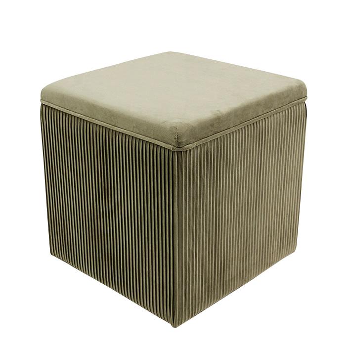 corduroy material furniture living room stool foldable ottoman