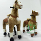 HI Horse plush ride on horse toy pony/mechanical riding horse for children