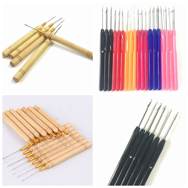 XUCHANG HARMONY 2 bags 2000 pieces 4mm 4.5mm 5mm 5.5mm Aluminum micro beads itip hair extension tools silicone micro rings