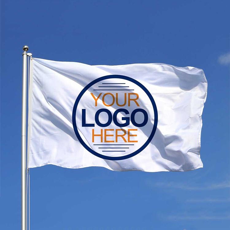 150*90cm 100%polyester custom design print your logo banner flag