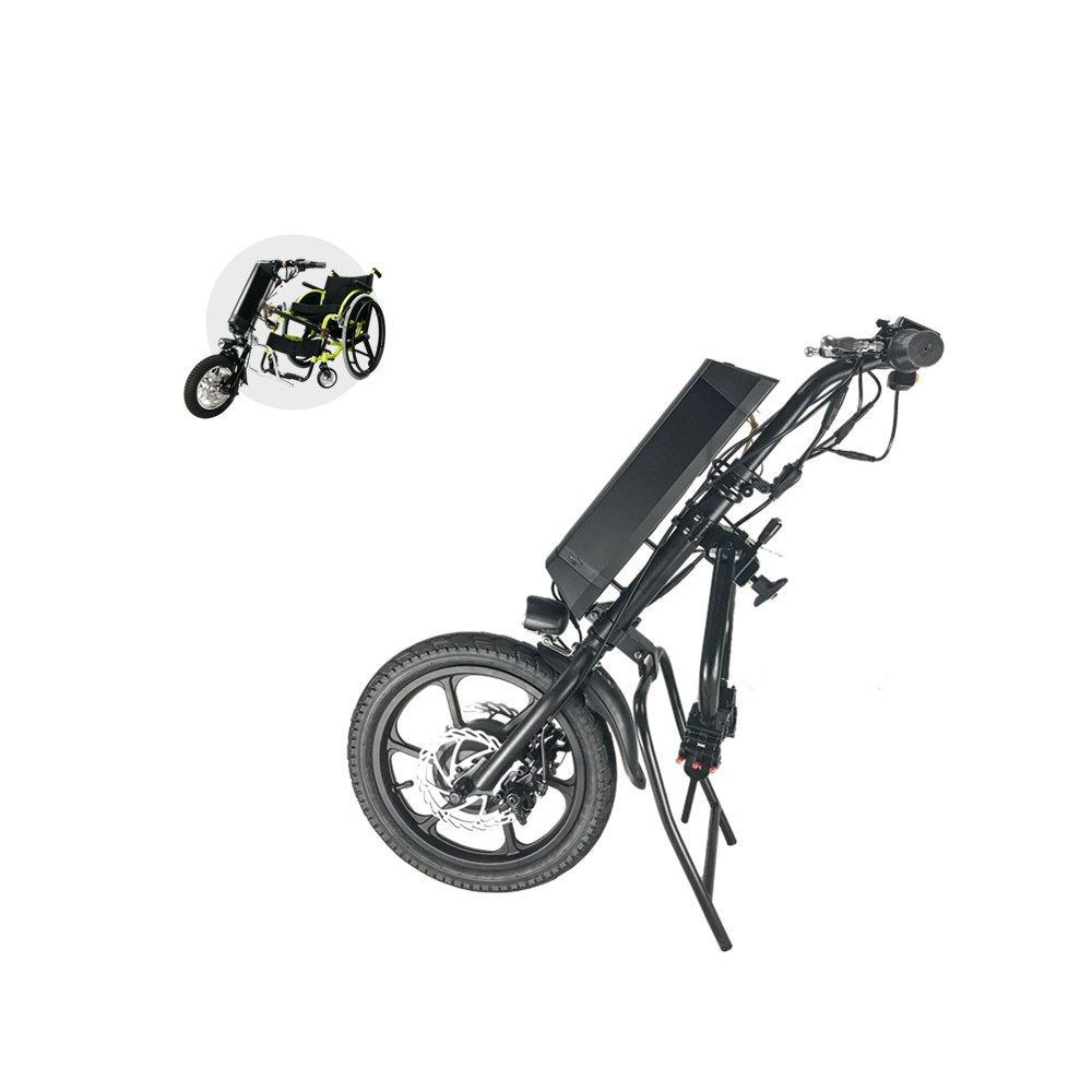 2019 NEWEST 16 forward and back function 36v 350w electric handcycle wheelchair for disabled