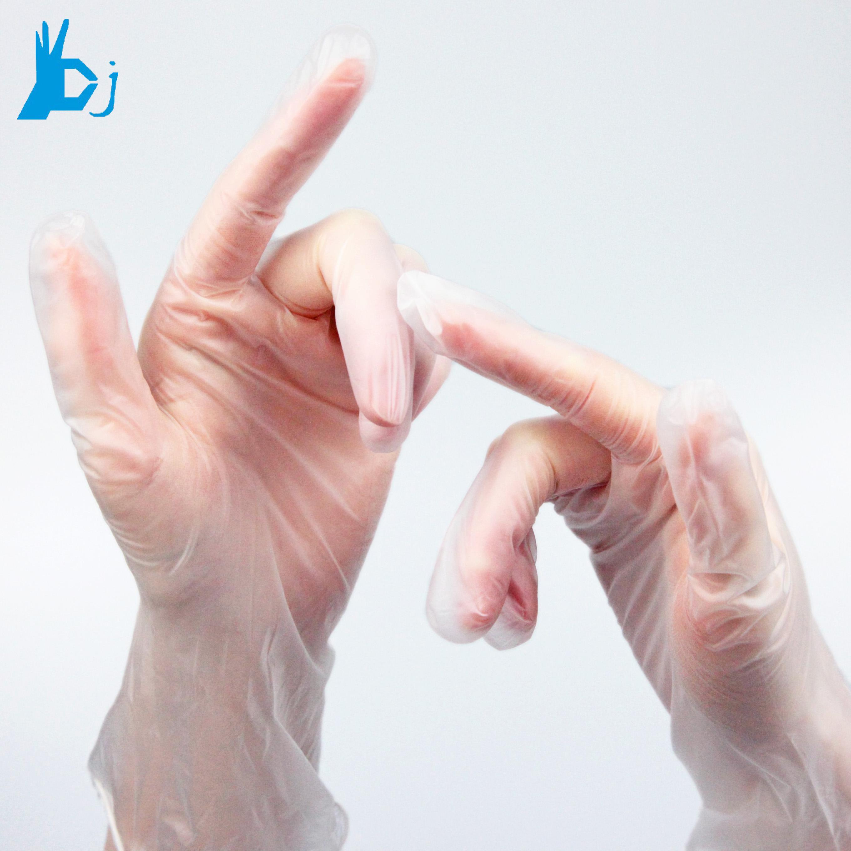 Disposable pvc vinyl glove