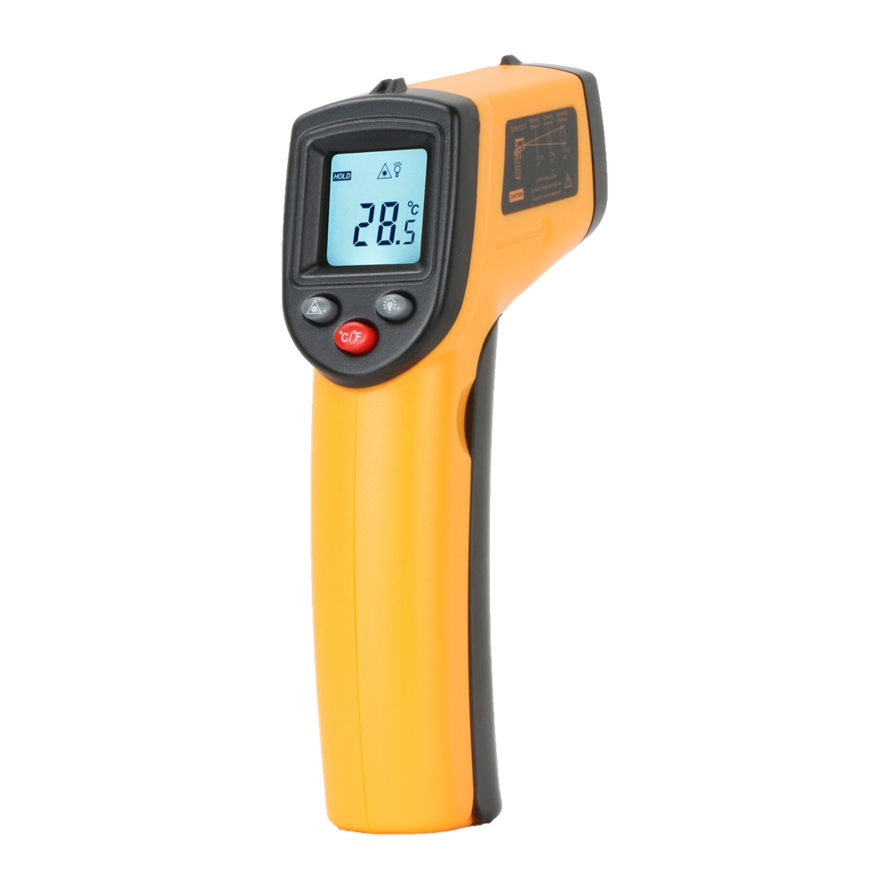 IR Infrared Thermometer Thermal Imager Handheld Digital Electronic Outdoor Non-Contact Laser Pyrometer Point Gun Thermometer - KingCare | KingCare.net