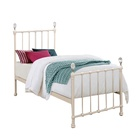 factory direct home furniture white crystal ball children kids bedding set for girls