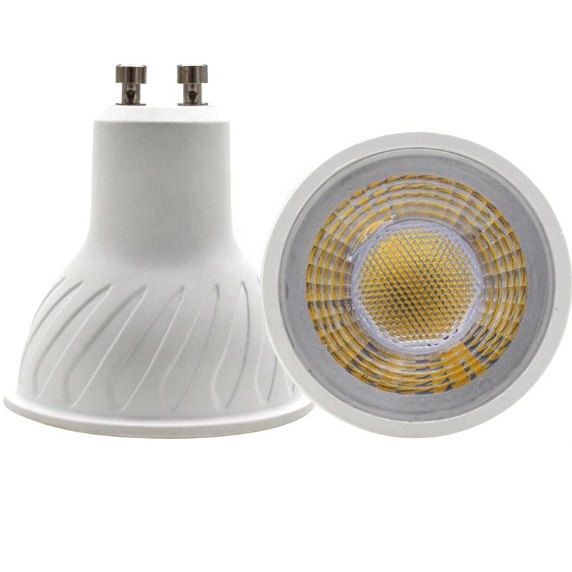 Good quality Plastic aluminum Mr16 GU5.3 gu10 5w led bulb spotlight