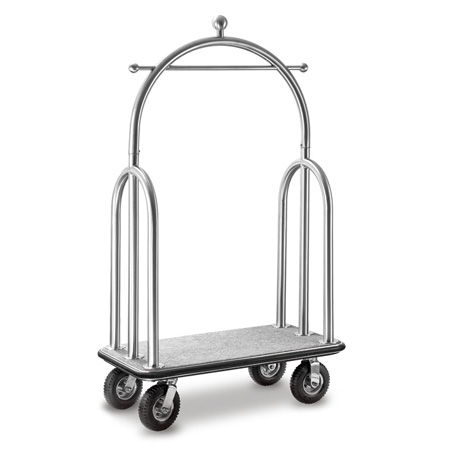 High quality hotel luggage carts/ bellman trolley with unique design from Zhuhai supplier