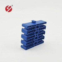 LY-CM-37 24 port cable comb for cable wire organizing too Cable management